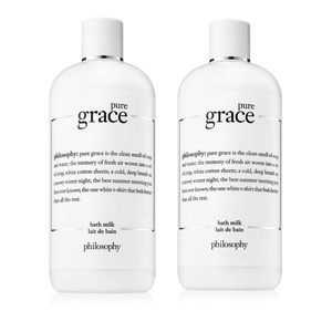 PHILOSOPHY PURE GRACE BATH MILK (PACK OF 2) NEW